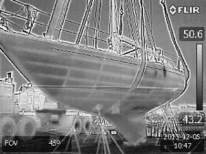 Internal Structure Of A Fiberglass Yacht